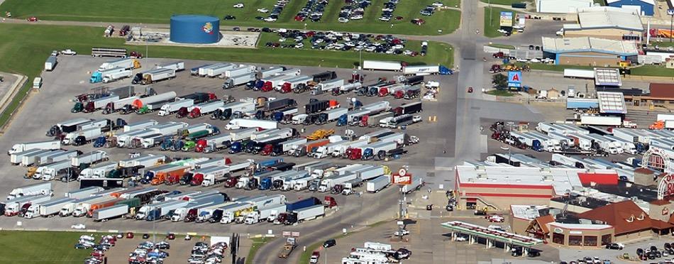 Iowa 80 - Parking Lot