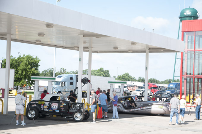 This photo is from our fuel stop in 2015.